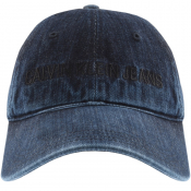 Product Image for Calvin Klein Jeans Denim Logo Cap Navy
